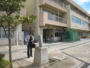 ▲第三中学校の防災井戸