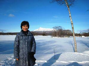 北海道は晴天の元旦でした!