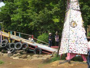 川崎市のプレーパーク「夢パーク」